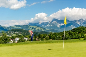 THEMENBILD, Golf in Kitzbühel