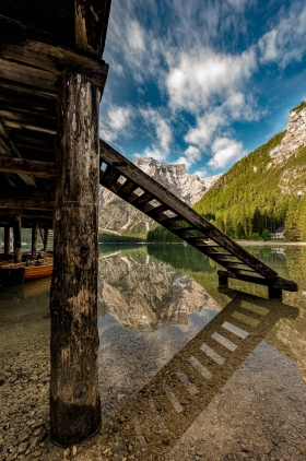 THEMENBILD, am Pragser Wildsee