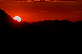 THEMENBILD, Sonnenuntergang in den Kitzbueheler Alpen
